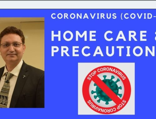 Home Based Care & Precautions for COVID Patients by Dr Sanjeev Kumar